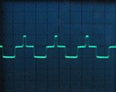 Puslwelle mit 18 kHz