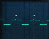 Pulswelle mit 500 Hz
